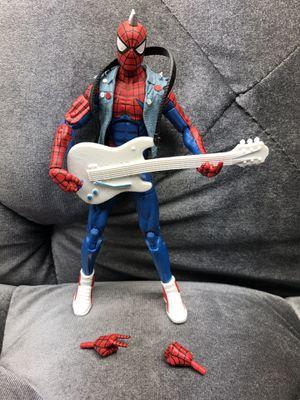 Marvel Legends Spider Punk Spiderman Lizard BAF Wave Loose 100% complete for Sale in Fresno, CA
