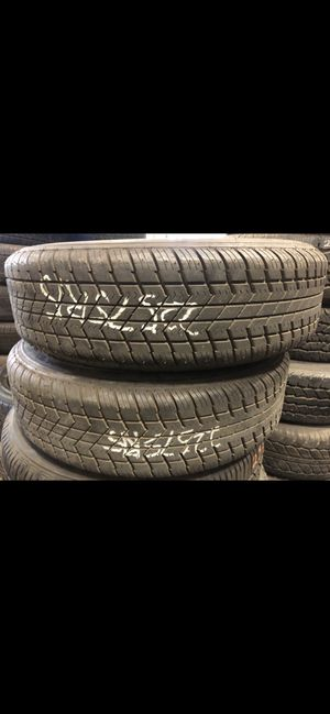 2 used tires 225 75 15 trailer ! for Sale in Bakersfield, CA