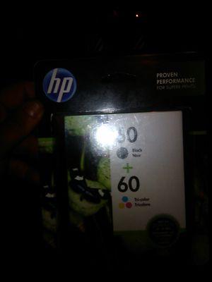 HP printer ink #60 Black & Color Ink for Sale in Avondale, AZ