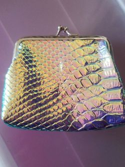 Holographic Blue Purple Iridescent Wallet for Sale in Dallas,  TX