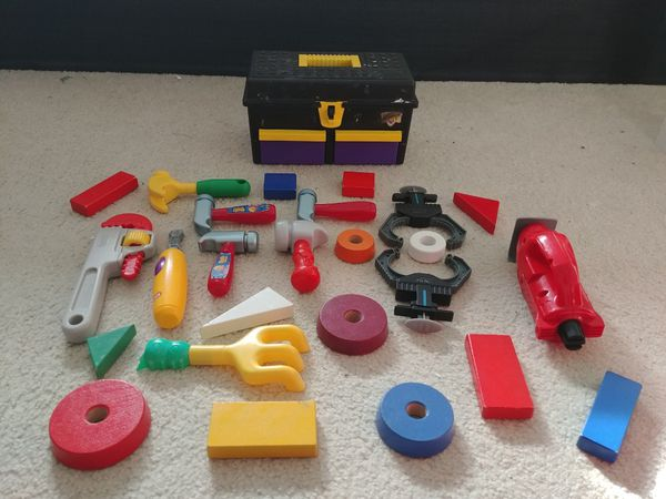 Tool Set with lots of shapes