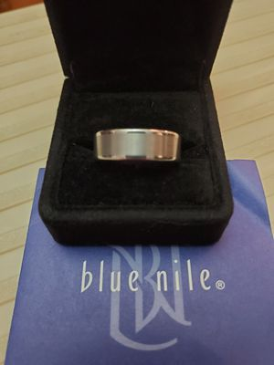 Gray Tungsten Carbide Satin Finish Wedding Ring - 8mm for Sale in Easley, SC