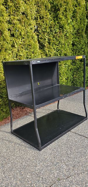 Huge Black Steel Storage Shelving Unit for Sale in Puyallup, WA