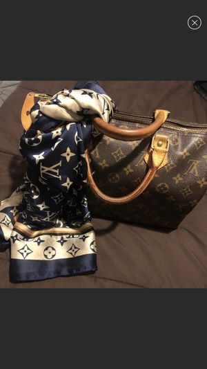 Louis Vuitton silk scarf authentic for Sale in Whittier, CA