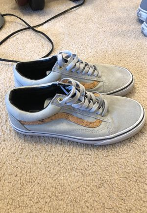 Vans grey and cork for Sale in Madison, WI