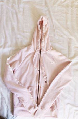 Hollister XS Pale Pink Full-zip Hoodie for Sale in Mountain View, CA