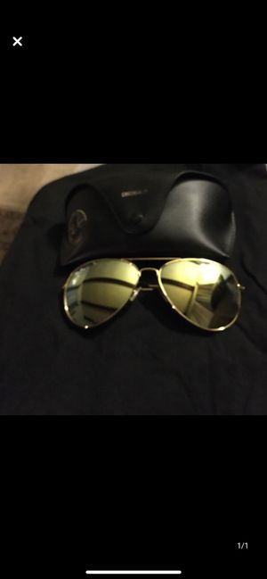 Rayban sunglasses / message for price for Sale in Gaston, SC