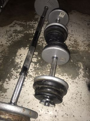 Adjustable weights for Sale in Winston-Salem, NC