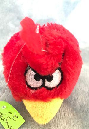 "2"" angry Birds stuffed animal$1 for Sale in Menifee, CA"