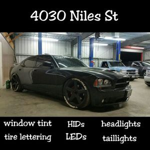 HIDs LEDs window tint auto body parts for Sale in Bakersfield, CA