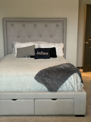 Queen size bed frame $350 OBO for Sale in Austin, TX
