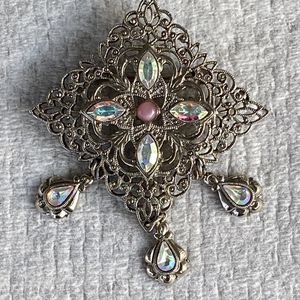 Vintage Filigree Brooch for Sale in Huntingdon Valley, PA