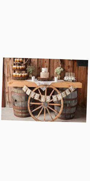 Wag wheel T1 Bar Set Wine whiskey wood barrel. + wood cookie slab table centerpieces cake stand base banquet hall for Sale in Miami Springs, FL