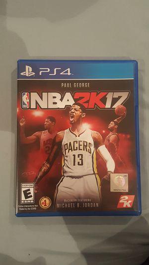 PS4 NBA2K17 for Sale in Miami, FL