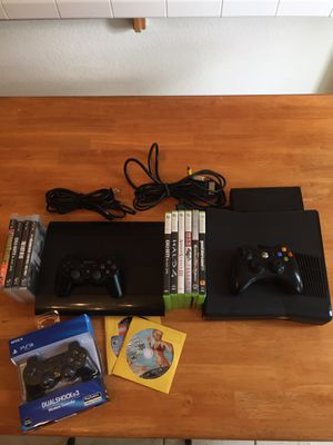 PS3 and Xbox 360 bundle. Games,Controllers, and cables for Sale in Brentwood, CA