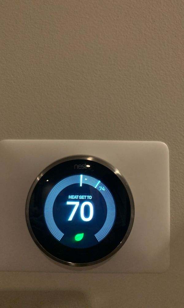 Nest 3rd Gen Smart Learning Thermostat