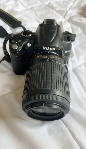 Nikon D5000 Digital Camera for Sale in South Riding, VA