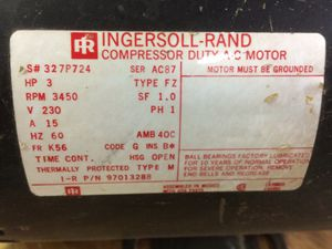 Air compressor motor for Sale in Lancaster, MA