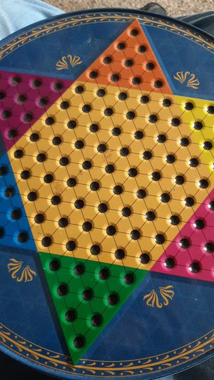 Chinese and American or Traditional checkers game for Sale in Traverse City, MI