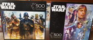 Starwars 500 piece puzzles for Sale in Mountlake Terrace, WA