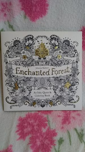Enchanted Forest An Only Quest Coloring Book for Sale in Tacoma, WA