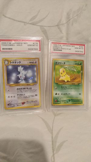 Pokemon collector cards. for Sale in HOMOSASSA, FL