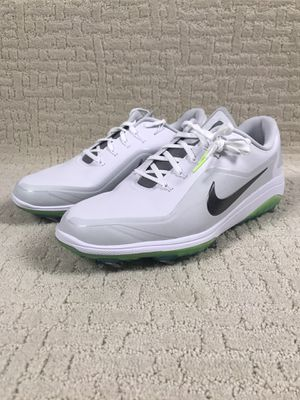 Nike React Vapor 2 Golf Shoes White Green Glow BV1135-103 Men's Size 10.5 New without box for Sale in Tallmansville, WV