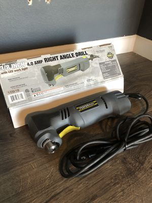 """Performax® Corded 3/8"""" Right Angle Drill - 4.0 Amp for Sale in Glendale, AZ"""