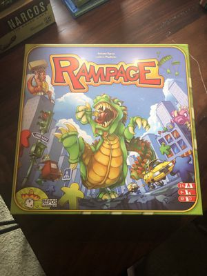 Rampage board game (out of print) for Sale in Austin, TX