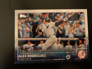 Alex Rodrigues 3,000 Hits Baseball Card Moments!!!! for Sale in Fuquay-Varina, NC
