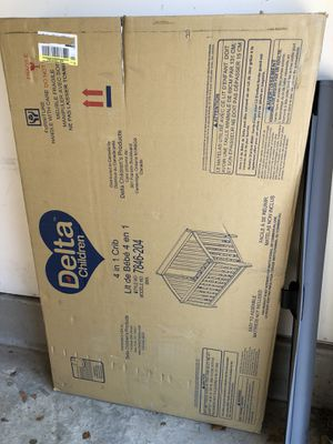 Delta 4 in 1 Crib (Brand New Never Opened) for Sale in Elkridge, MD