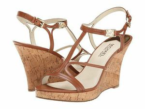 MICHAEL Michael Kors Cicely Wedge Sandal for Sale in Cape Coral, FL