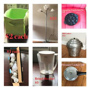 Miscellaneous Items - Move out Sale for Sale in Chicago, IL