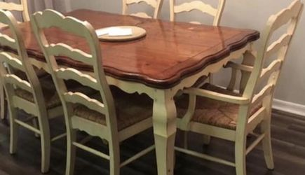 Dining Table Set 6 Chairs Coffee Table And End Table for Sale in Orlando,  FL