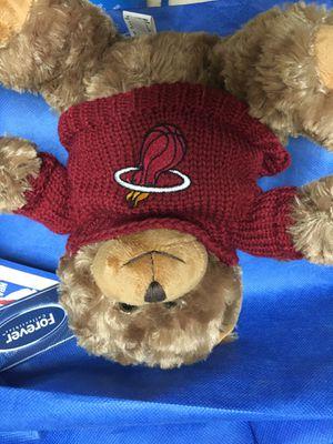 Teddy bear nba team logo on sweater for Sale in Anaheim, CA