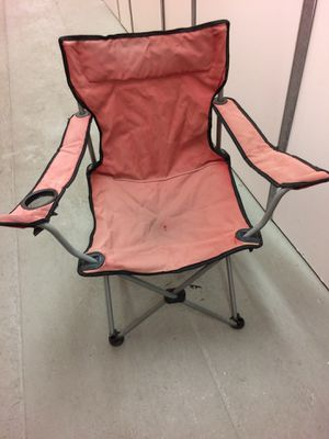 Free folding outdoor chair for Sale in Herndon, VA