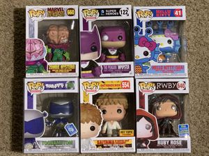 Funko pops (MESSAGE FOR PRICES) for Sale in Chino Hills, CA
