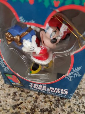 Disney's Minnie Mouse Tree-rific Treasures by Enesco Mickey Unlimited Ornament for Sale in Riverside, CA