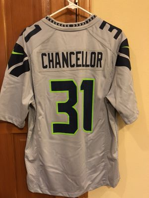 Like New- Men s Authentic Nike On Field Seahawks Jersey 7c5f5d64c