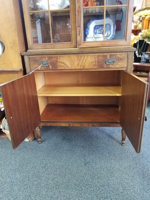 Vintage china cabinet for Sale in Bristol, PA