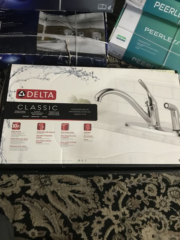 New faucets make your offer