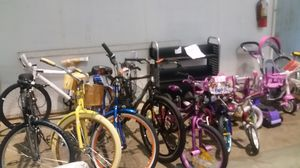Bikes for children and up brand new assembled prices differ for Sale in NC, US