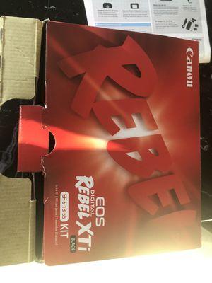 Canon Digital Rebel XTI Camera for Sale in Bellevue, WA