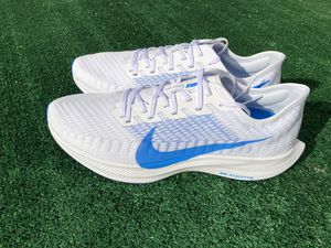Nike Shoes Zoom Pegasus Turbo 2 White Photo Blue Void AT2863-100 Men's Size 12 for Sale in Post Falls, ID