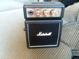 Marshall MS2 amp for Sale in Peoria, IL