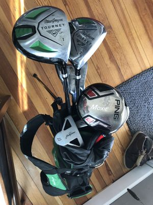 Assorted kids PING and MacGregor golf clubs for Sale in Denver, CO
