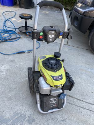 Gas 2800 psi pressure washer power washer for Sale in Jurupa Valley, CA
