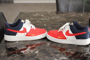 Men-Nike Air Force 1 Red Blue /size 10 for Sale in Atlanta, GA