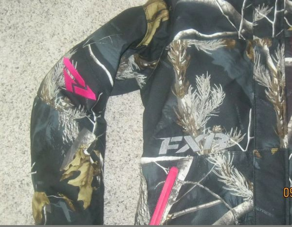 New FXR snowmobile jacket