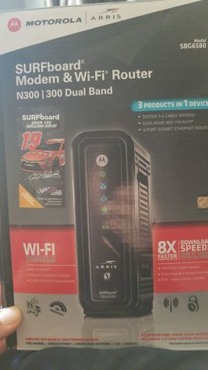 Arris modem & Wi-Fi Router for Sale in Sylmar, CA